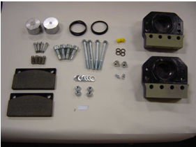 Genuine Dellner Industrial Brake parts